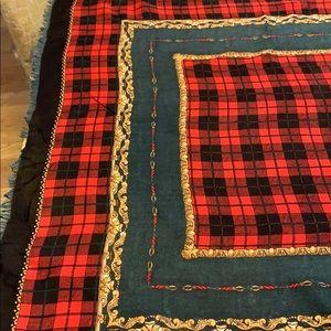 Vintage Nordstrom wool silk Italian scarf